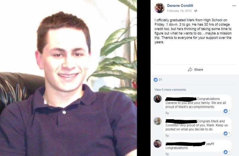 Who is Mark Anthony Conditt, the suspected Austin serial bomber? https://t.co/WbOlSzL0Qo