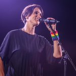 .@heatherpeace in action on the Heather Peace Presents stage last August ✨🌈