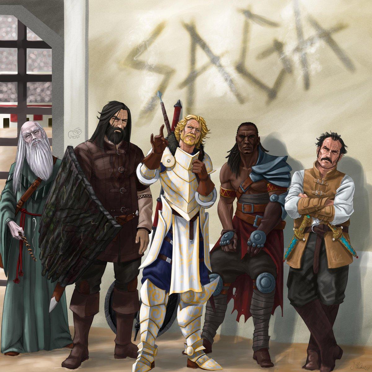 Image result for kings of the wyld saga art