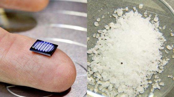 1000RT:【1mm×1mm】IBMが世界最小コンピューターを開発 塩の粒より小さいサイズ https://t.co/fsQFSwCnUm  指先にのっているのが64枚のマザーボードがのるボード。このボードの左端に2つのっているの…
