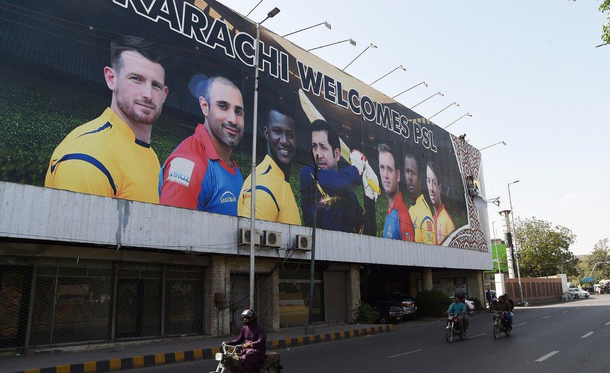 Karachi welcomes the Pakistan Super Leag...