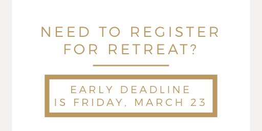 test Twitter Media - The price for the BGCO Women's Retreat goes up on Saturday. Make sure to get your registration in by Friday at midnight to save $10! https://t.co/dRnzyi323Z https://t.co/ZAbV72Lgbq