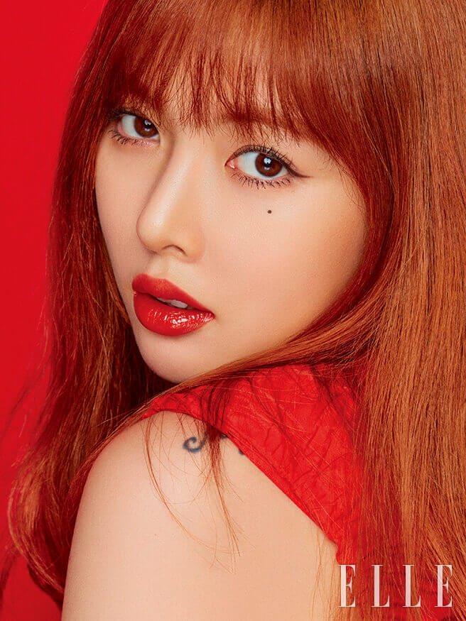 [PHOTOSHOOT] Hyuna for MAC x Elle Korea   allkpop Forums Hyuna 2014