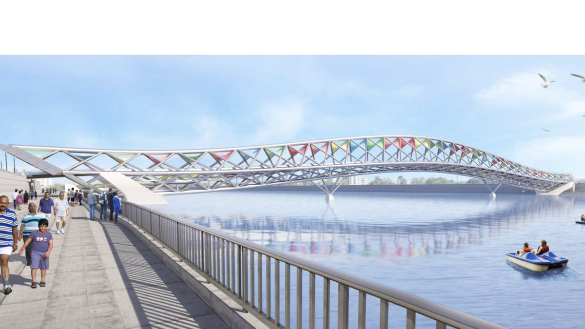 In pictures: AMC – SRFDCL board meeting approves foot bridge over river Sabarmati