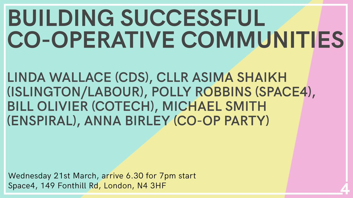 Don't miss out on hearing from a great set of speakers to inspire us all! #coops