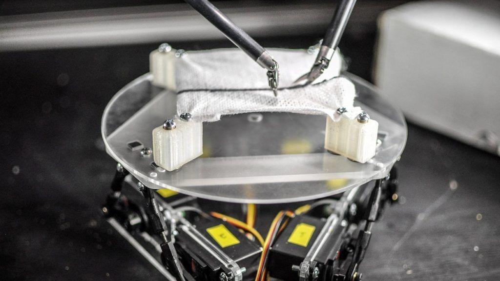【動画】まるで呼吸するように動く「患者役」のロボットが誕生──手術ロボのメスさばきを支える、意外な技術 https://t.co/ORlcZdNWtc