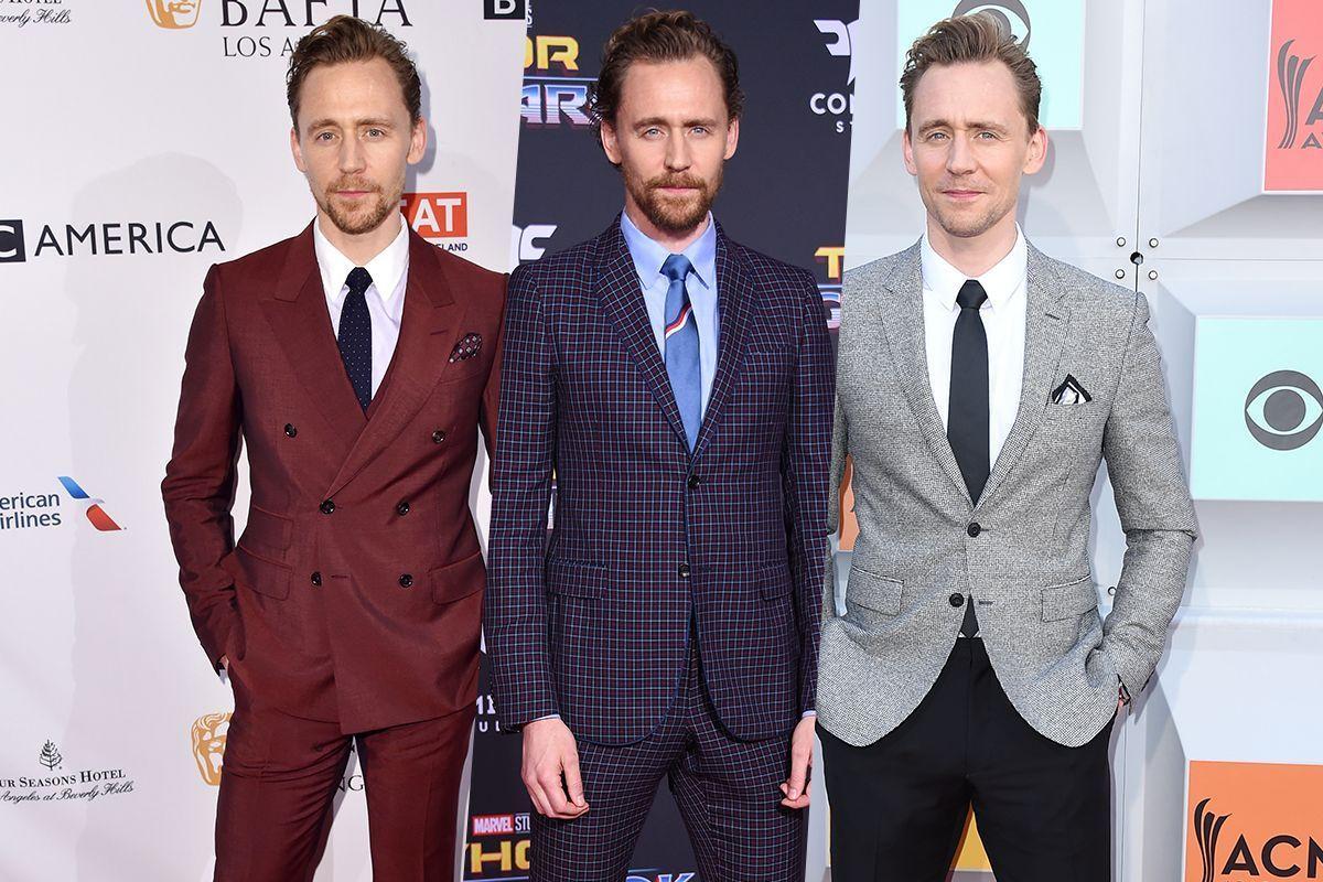 英国紳士の品格を感じさせるトム・ヒドルストンのスーツスタイル。柄モノやカラーシャツの組み合わせもお手の物! 彼から'着こなし'を学ぼう。https://t.co/bQiQf3xNCA