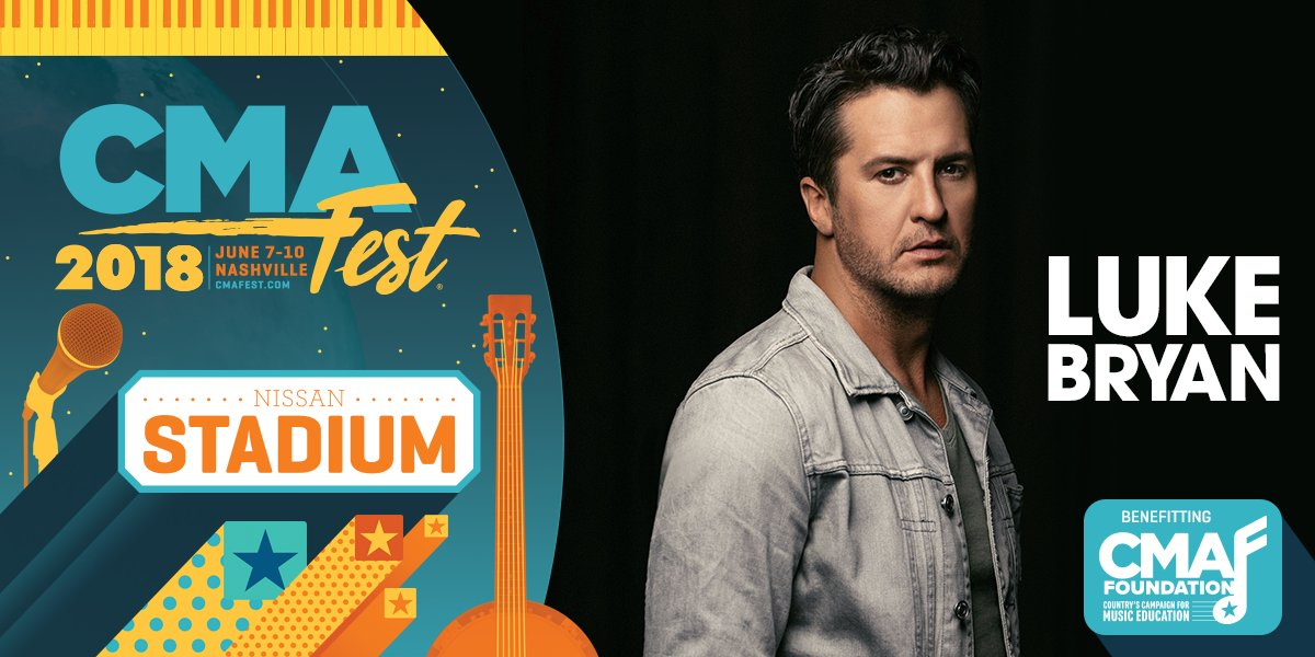 Luke Bryan's photo on #CMAfest