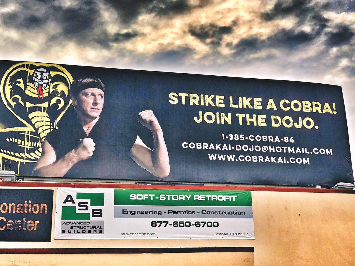 William Zabka's photo on #CobraKai