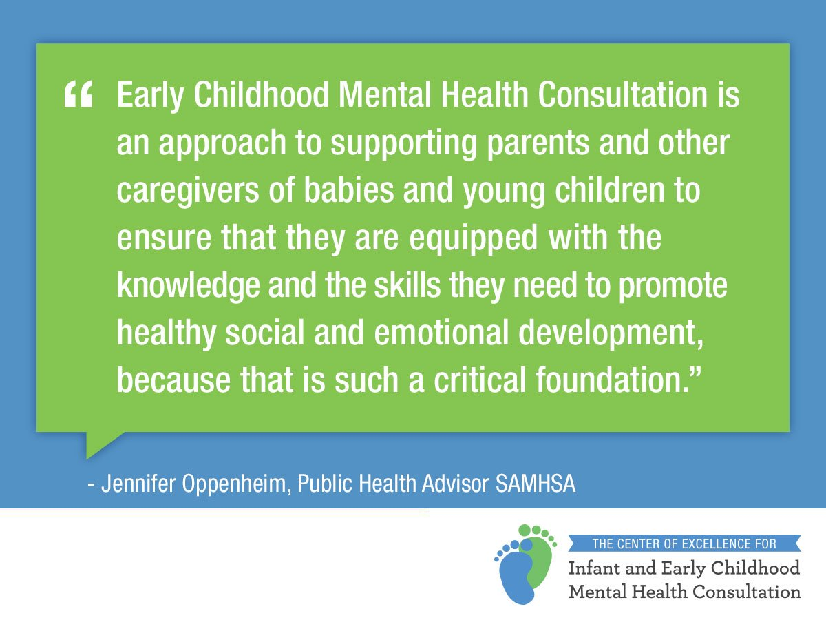 What exactly is Infant and Early Childhood #MentalHealth Consultant and what services do consultants provide? LISTEN to the podcast to find out! https://t.co/OeND1MuIW4