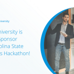 #Mendix is excited to host a #hackathon at @NCState with over 50 students. They'll compete for a prize using the Mendix Development Platform to build an event-management #app. Stay tuned to learn about the winner's app. Learn about the #MendixUniversity https://t.co/UtCQKoYuqN