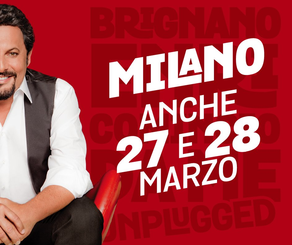 Proseguono con successo le repliche al Teatro Ciak di Milano e vi ricordiamo che sono state aggiunte 2 nuove date: 27 e 28 marzo. INFO BIGLIETTI: https://t.co/OsvnJJQAxX #BrignanoTour #EnricominciodaMeUnplugged Lo staff di @EnricoBrignano https://t.co/EhhJIyY7dP