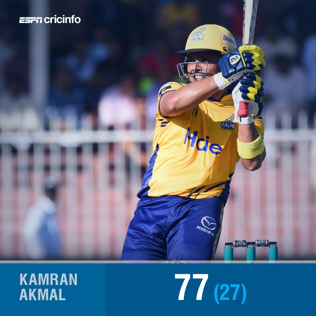 Add another to the list of Kamran Akmal's best hits in #PSL2018   https://t.co/hNm7VnCG7c #KKvPZ
