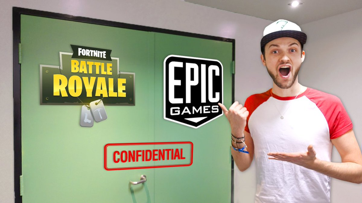"Ali A Fortnite ali-a on twitter: ""check out my visit to the epic games"