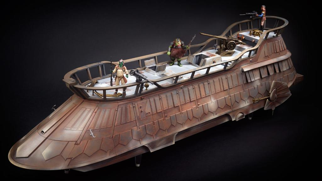 Now witness the beauty of this fully painted (and stylish) sail barge from Hasbro. https://t.co/HPlHuu6hAx
