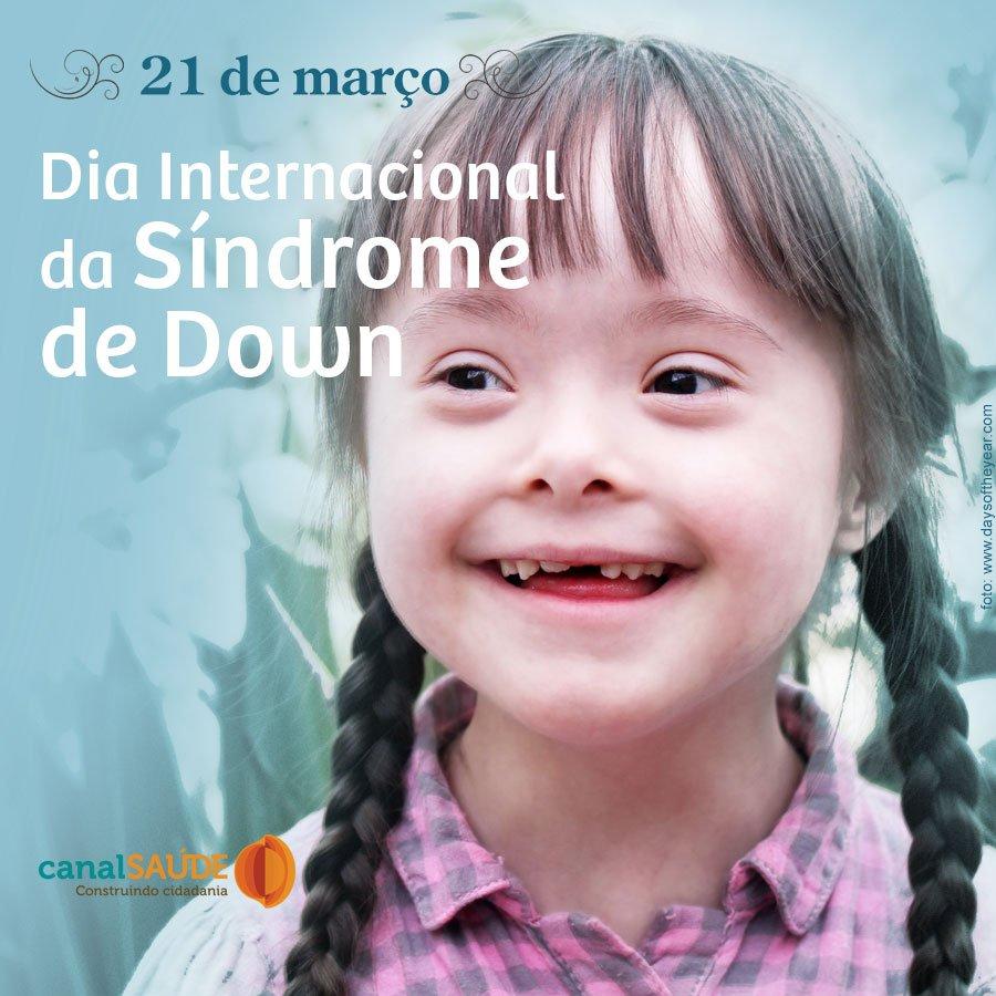 Hoje é o Dia Mundial da Síndrome de Down. Dia de combater o preconceito e promover inclusão. As pessoas com Down são capazes de vencer limitações e participar ativamente da vida em sociedade assista ao Em Família sobre viver com down e saiba mais https://t.co/UjzLKMLr7q