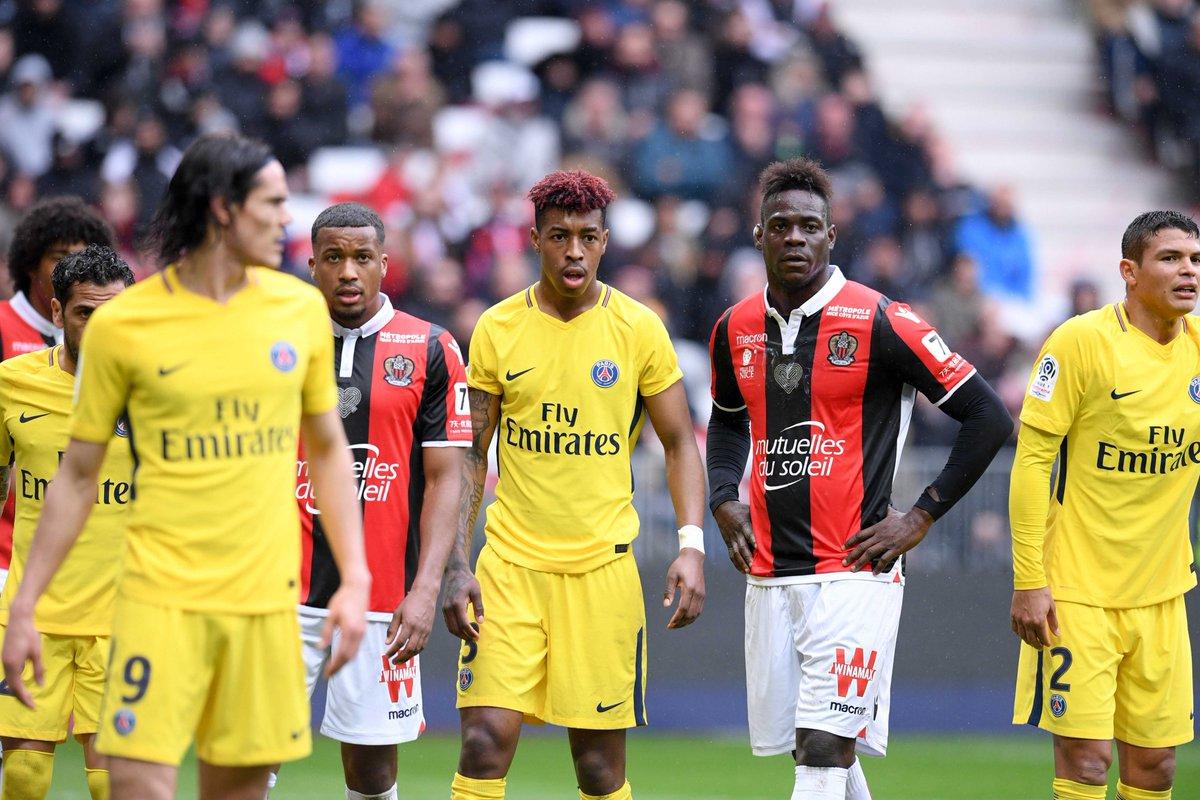 Nice/ PSG : Exposition record pour l @Ligue1a  en Chine !  La rencontre  /  a  @ogcniceba @PSG_insidettu tous les records d'audience pour un match de  en  @Ligue1Chine 🇨🇳  Communiqué → https://t.co/bxfbHiufqC