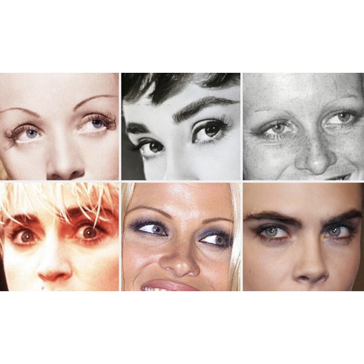 Victoria Adams On Twitter The Evolution Of Eyebrows That 90s