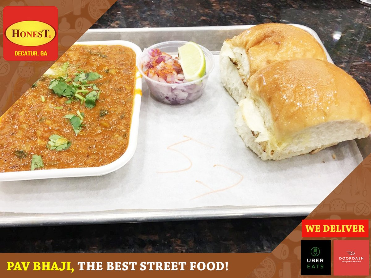 Spend A Splendid Evening With Friends Over Plate Of Ery Pav Bhaji At Honest Restaurant Located 1707 Church St Decatur Ga 30033