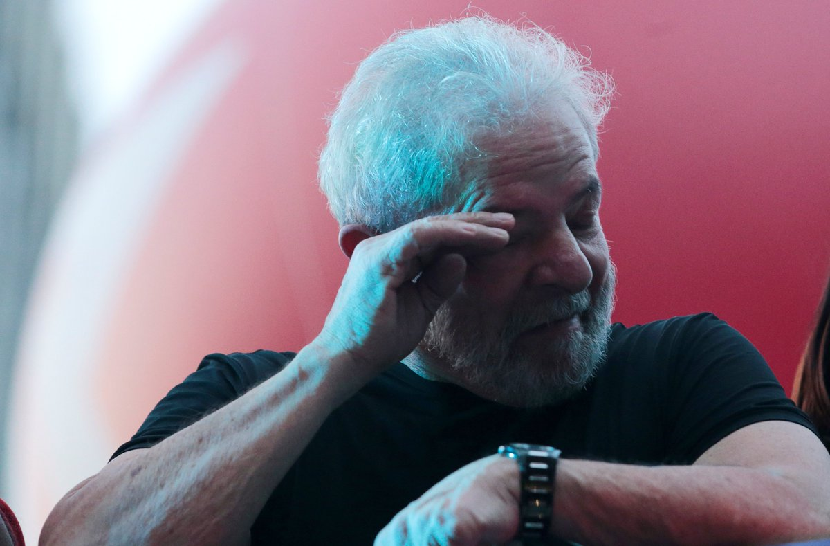 URGENTE: Cármen Lúcia marca julgamento de habeas de Lula para amanhã https://t.co/TLbQqycgOP