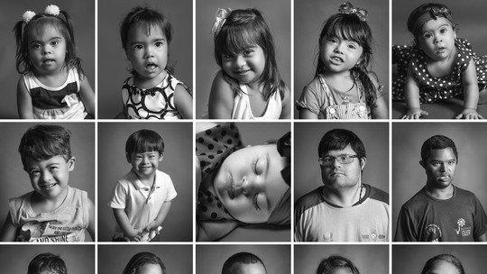 'Beleza inocente', diz fotógrafo sobre ensaio de pessoas com Síndrome de Down https://t.co/h5WdX4t4nd #G1