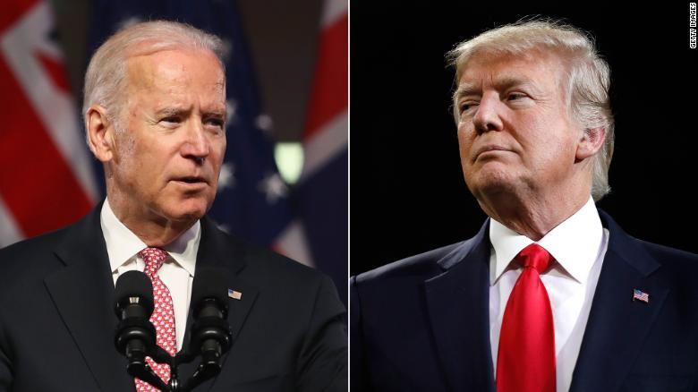 Former Vice President Joe Biden said he would take President Trump 'behind the gym' and 'beat the hell out of him' if they were in high school over the President's crude comments about women https://t.co/LAeLLQn1vY