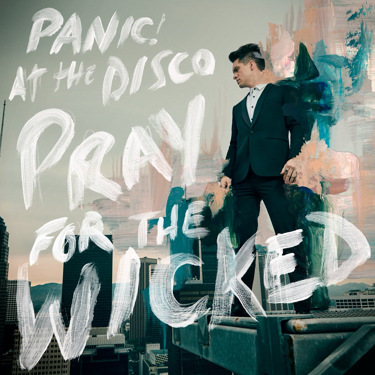 Image result for panic at the disco pray for the wicked album cover