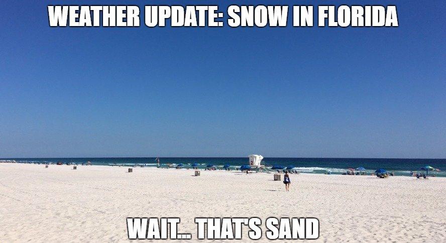 FLORIDA WEATHER ALERT #snowday https://t...
