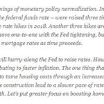 """.@NAR_Research's Lawrence Yun on today's @federalreserve decision to raise short-term rates: """"Mortgage rates do not move one-to-one with the Fed tightening, but clearly consumers should anticipate higher mortgage rates as time proceeds."""" https://t.co/b4iJXTNhlE"""