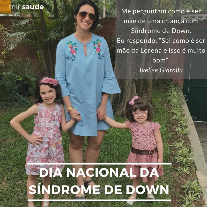 Hoje é comemorado o Dia Internacional da Síndrome de Down. Você sabia que a data de 21/03 foi escolhida para fazer alusão aos 3 cromossomos no par número 21, característico da síndrome? Lá no Blog da Saúde você confere um pouco mais: Acesse https://t.co/lm74dVYqls