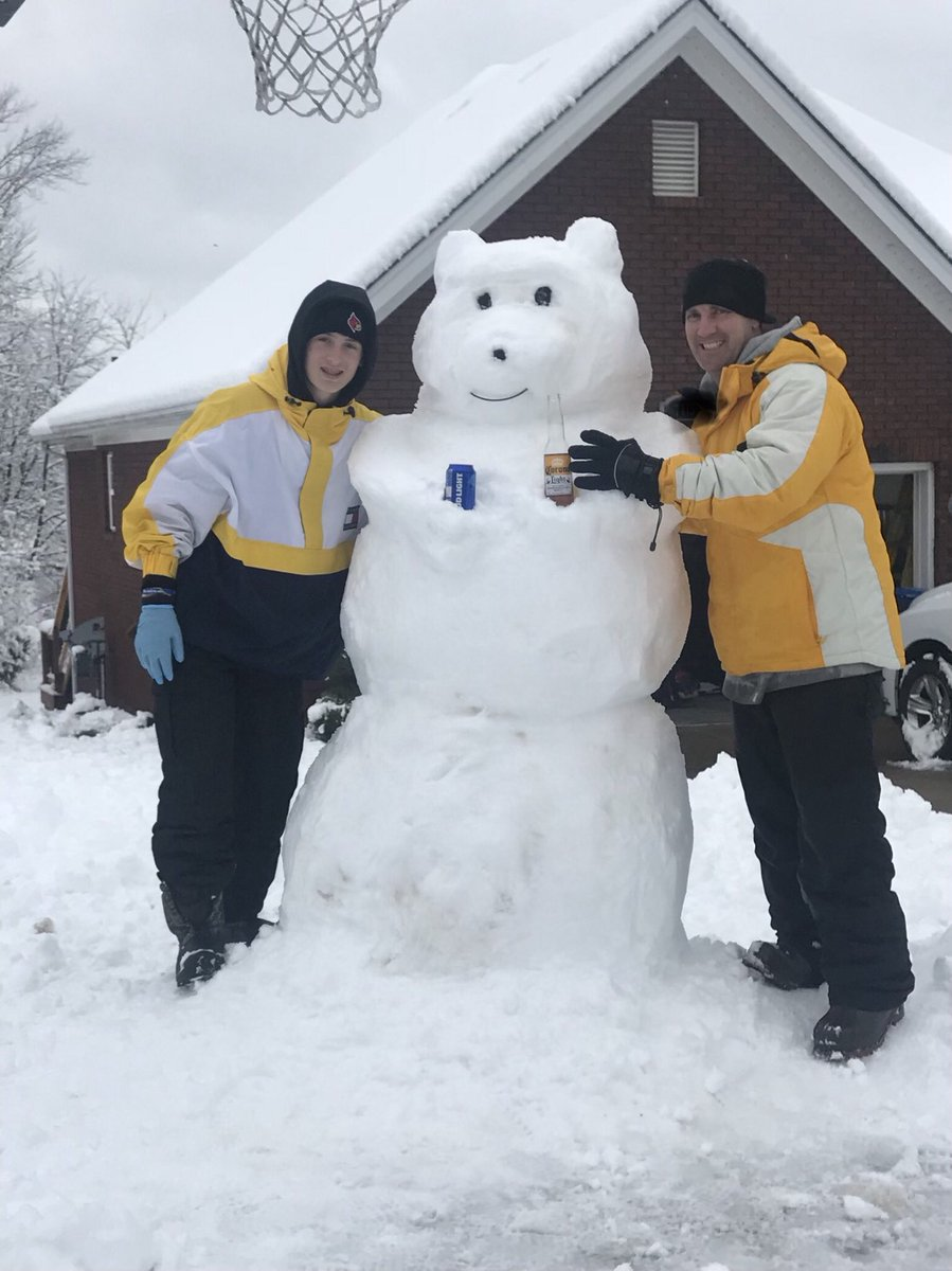 #SNOWDAY. Hanging out with Tyman and the...