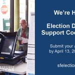 Image for the Tweet beginning: We're #Hiring!! Election Day Field