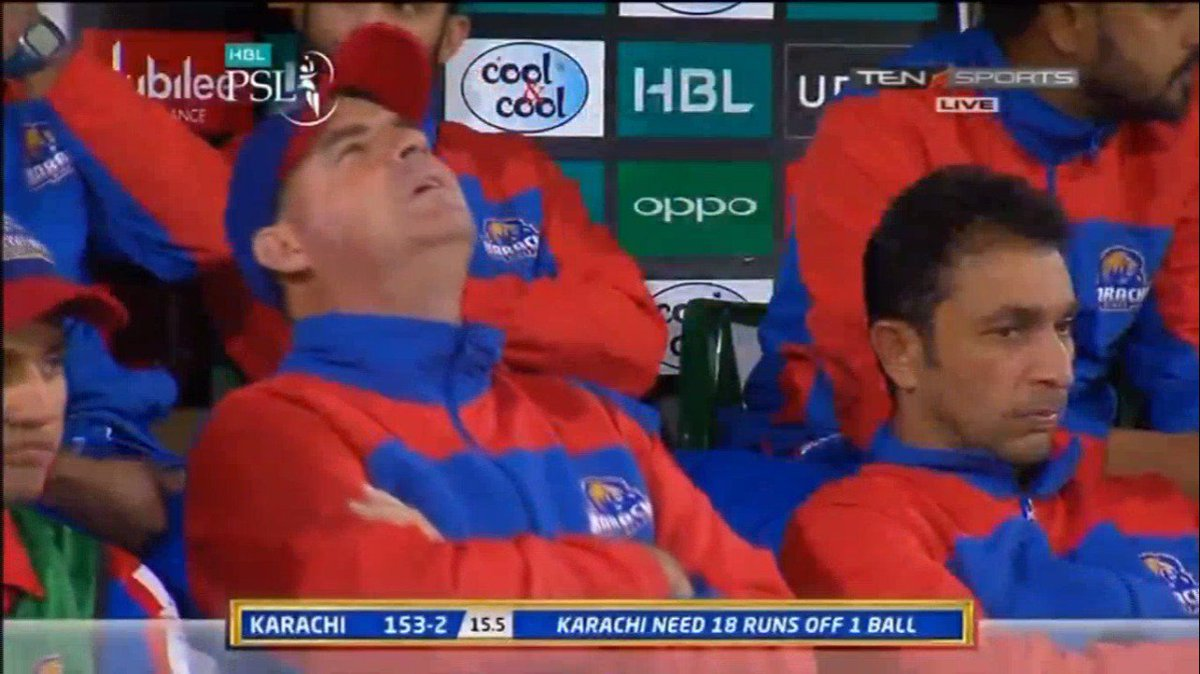 Not your day today Mickey #PSL2018 #KKvP...