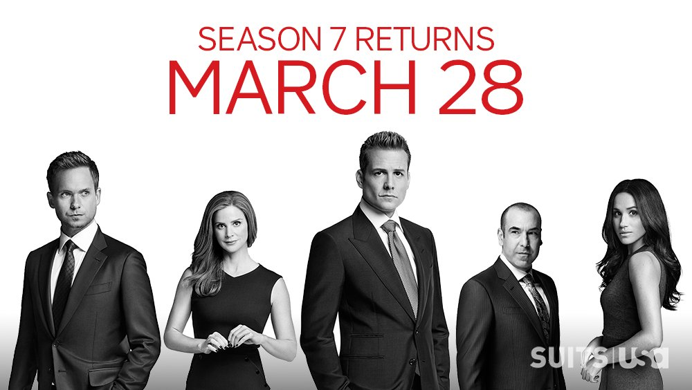 suits on twitter suitors the wait is almost over suits season 7