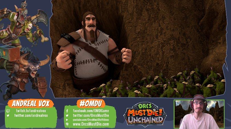 0 replies 3 retweets 4 likes - Orcs Must Die