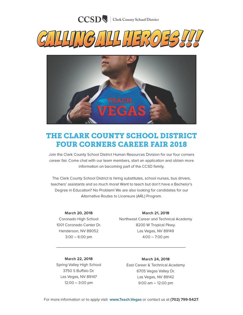 Teach Vegas On Twitter Lasvegas Join Us For Our Career Fair