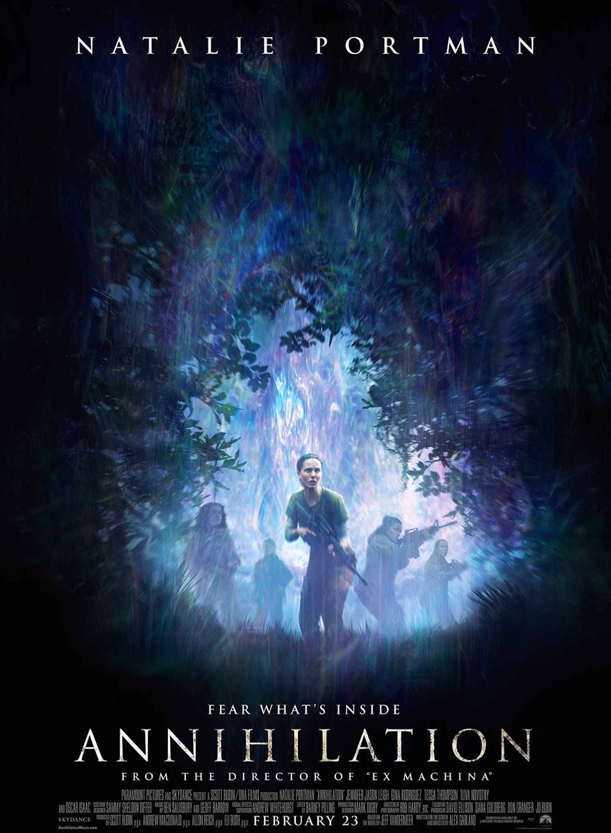 On Twitter Annihilation Is A Gorgeous Smart Movie With Kick Female Cast Tackling Our Issues Of Self Destruction From An Abstract Scientific