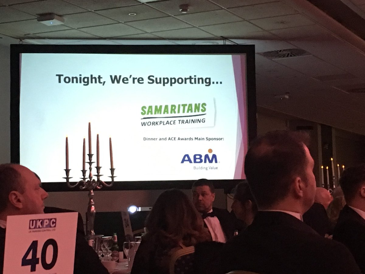 #Samaritans are well deserving charity for the #scmc2018