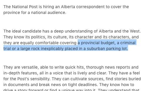 special correspondent job description