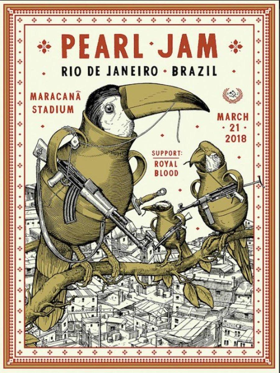 Pearl Jam critica violência no Rio em cartaz no Twitter (via @EstadaoCultura) https://t.co/IjDeJtt1Uy