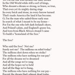 Let America Be America Again  By Langston Hughes  #WorldPoetryDay
