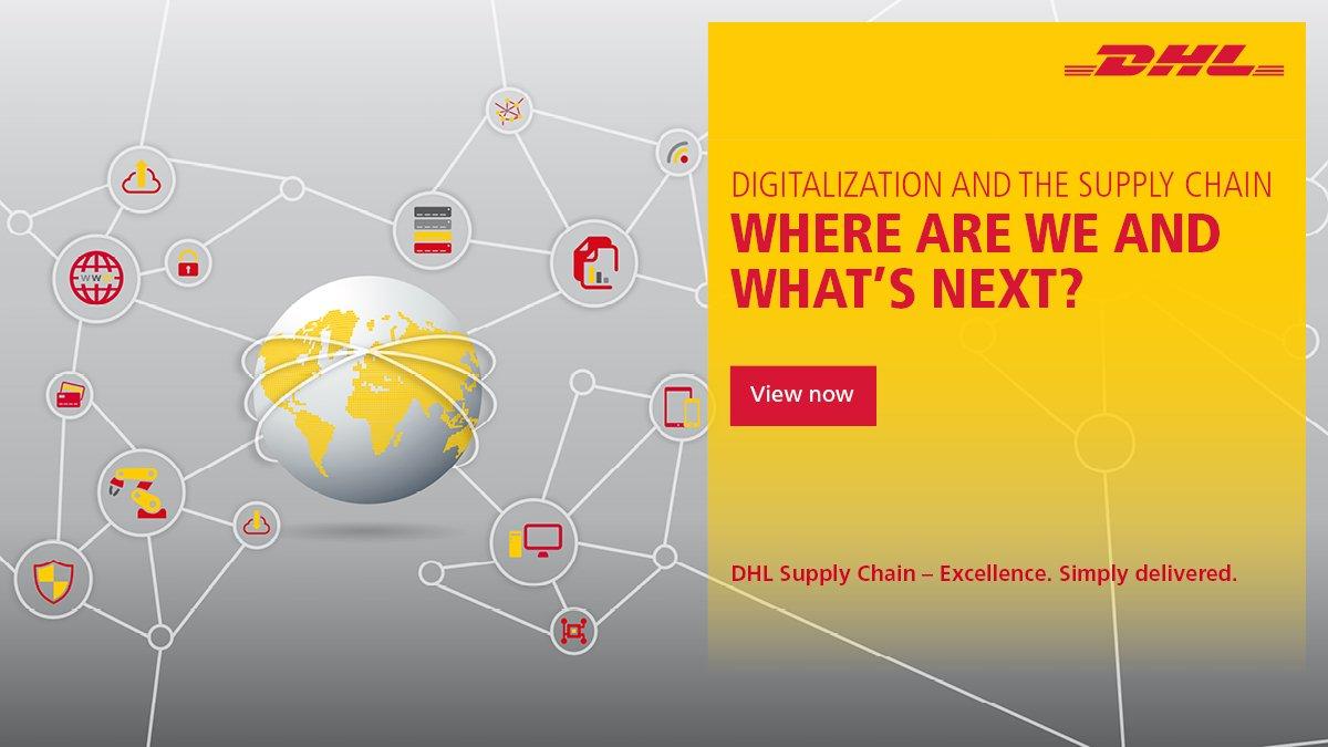 Relatório da DHL sobre Digitalização na cadeia de suprimentos