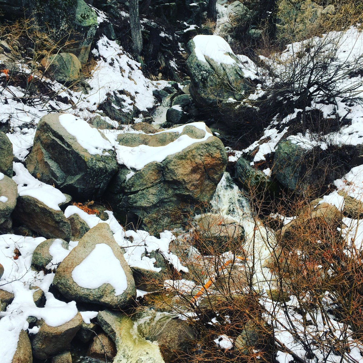 Caltrans District 8 على تويتر Waterfall Castle Rock Hiking Trail
