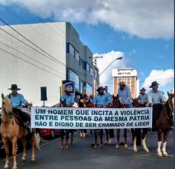 Protesto contra Lula em São Borja (RS)  #LulaNaCadeia https://t.co/JCElDghTcQ