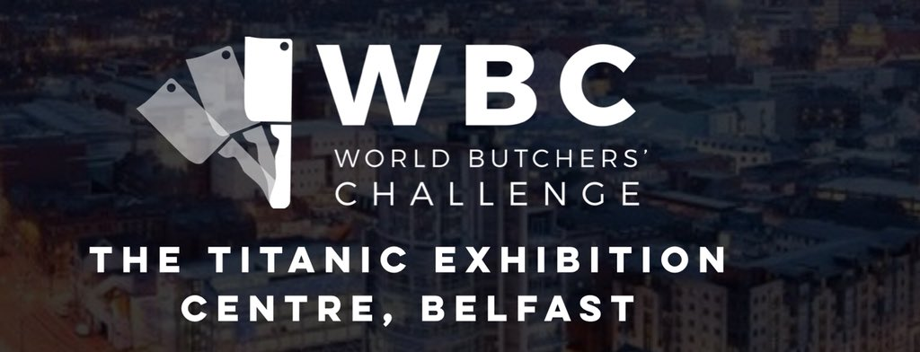 Congratulations to NZ winners best chicken product #worldbutcherschallenge – at Titanic Belfast