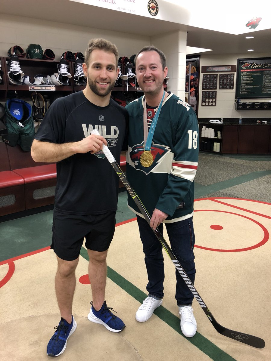 Jason Zucker On Twitter Great To Meet You Too Brother
