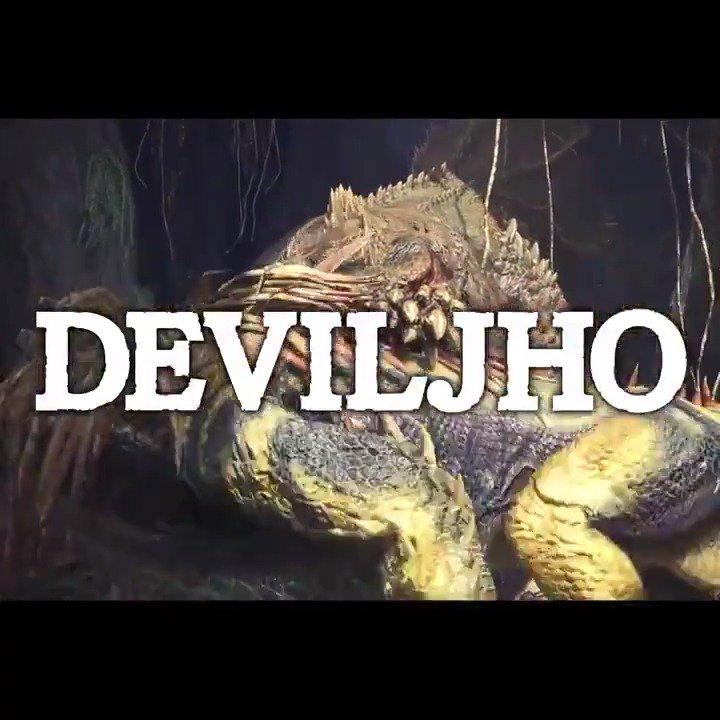 Get ready, hunters! Deviljho has arrived in #MHWorld! https://t.co/onDzN1ZwJU https://t.co/6xbRQAp22a