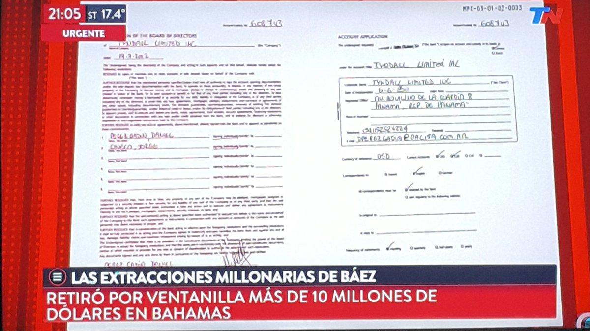Las Extracciones Millonarias de Báez: Re...