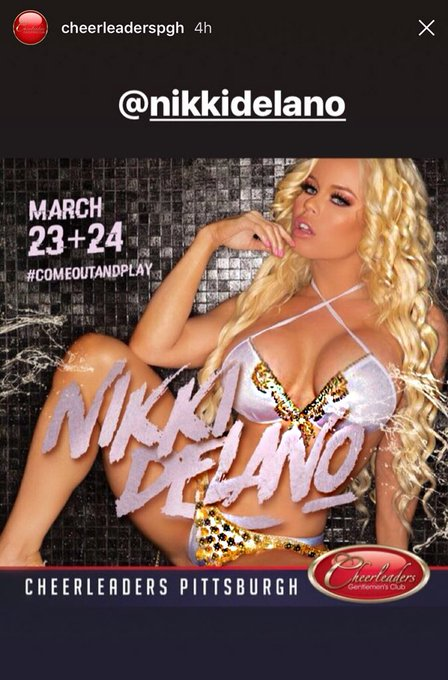 3 pic. Meet me live this Friday & Saturday at @cheerleaderspgh in Pittsburgh https://t.co/tqy68N5UsW