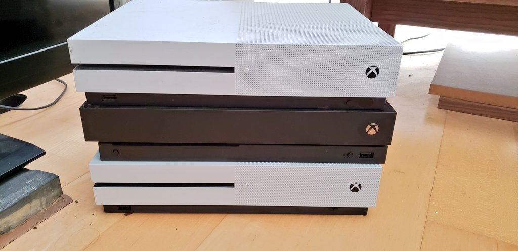 I have the perfect number of Xbox's to m...